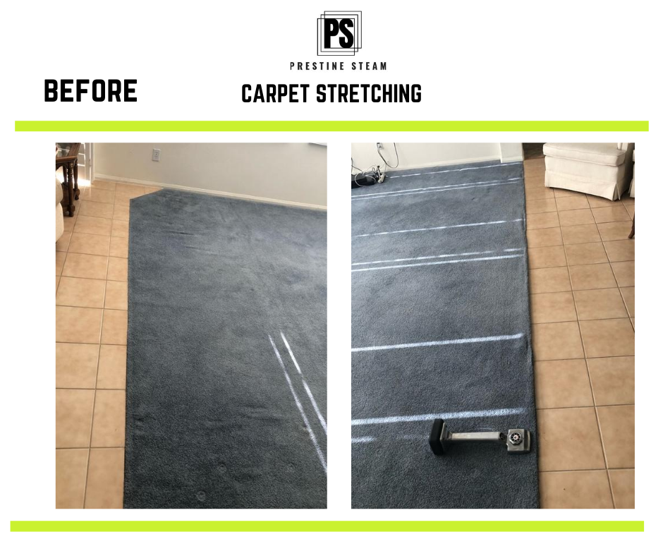 carpet streching before